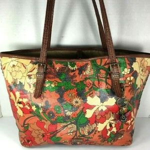 Sakroots Large Multicolor Canvas Print Tote